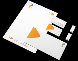 خدمات شركة 2P لخدمات العلاقات العامة والتسويق الرقمي , تصميم الهوية البصرية