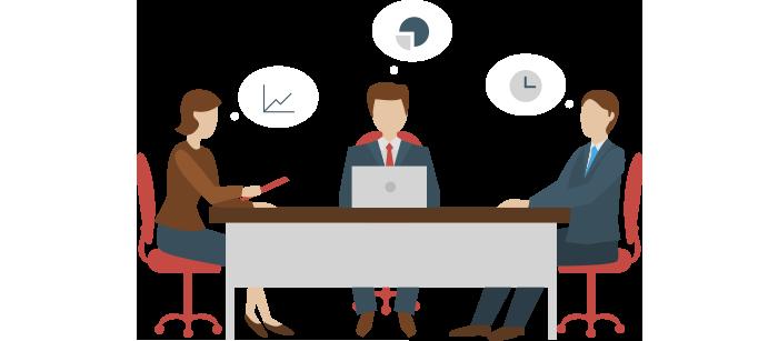 تخطيط و تنظيم المؤتمرات و دراسة الميزانية و افكار التسويق وكافة الأمور المتعلقة بالمؤتمر