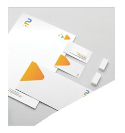 2P - خدمات العلاقات العامة والتسويق الرقمي - تصميم الهوية البصرية