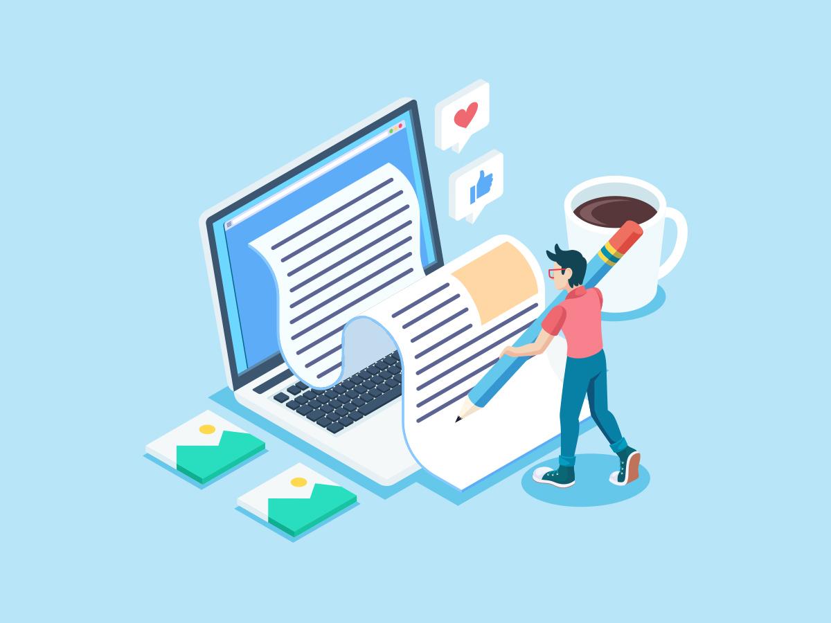 كتابة المحتوى بشكل أفضل - مقالات المدونة - شركة 2p